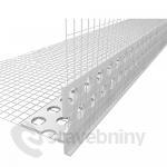 PVC nadokenní profil s nepřiznanou okapničkou dl.2,5m
