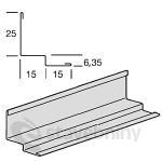 Armstrong obvodový stínový profil 31x30x3050mm - T1506H