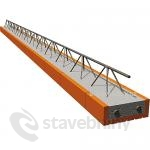 Porotherm stropní nosník POT 750/902 - 7500x160x230mm