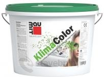 Baumit KlimaColor - silikátová bílá barva - 14 l