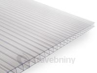 Gutta Guttagliss Dual Box polykarbonátová deska 4 mm 6000 x 2100 mm čirá | cena za m2