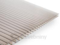 Gutta Guttagliss Dual Box polykarbonátová deska 10 mm 4000 x 2100 mm bronz | cena za m2