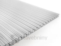 Gutta Guttagliss DUAL STRONG polykarbonátová deska 16 mm 3000 x 2100 mm čirá   cena za m2