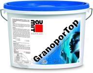 Baumit GranoporTop fasádní omítka škrábaná struktura 2mm
