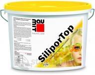 Baumit SiliporTop paropropustná fasádní omítka rýhovaná 3mm