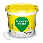 weber.pas akrylát zrnitý 1,5 mm - fasádní omítka 25kg