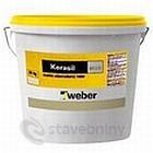 weber kerasil – minerální nátěr – bílý 25kg