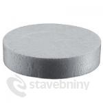 Zátka z fasádního polystyrenu EPS 70mm, výška 15mm - bílá